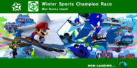 Winter Sports Champion Race