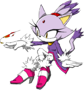 Sonic Channel - Blaze The Cat 2011