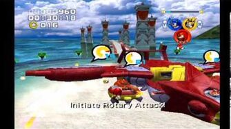 Sonic Heroes Egg Hawk (Team Sonic)