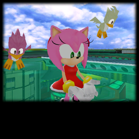 File:Sonic Adventure Credits (Amy 21).png