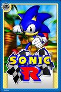 Sonic R Card