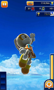 Sonic Dash Cream Mid air