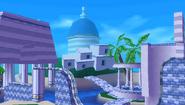 Blue Coast Background 4