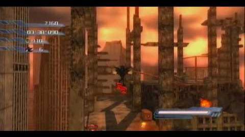 Xbox360 - Sonic the Hedgehog 2006 Shadow Act 3 Crisis City