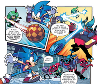 Sonic vs. The Deadly Three