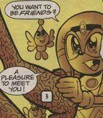 Tikal befriending