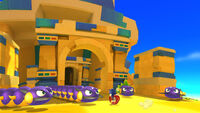 Crawltons in Sonic Lost World