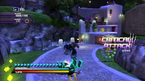 Sonic Unleashed (PS3) Apotos Windmill Isle Night Act 1 S-Rank
