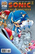 Sonic the hedgehog 188 cover