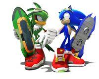 Sonic against Jet