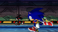 Sonic vs Shadow-0