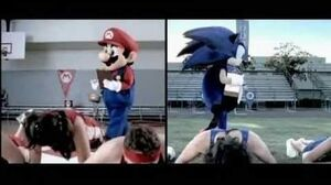 Mario & Sonic at the Olympic Games (Wii) commercial