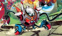 Burnbot Archie Comics