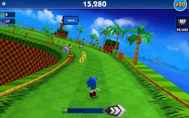 File:Green Hill (Sonic Dash) - Screenshot 1.png