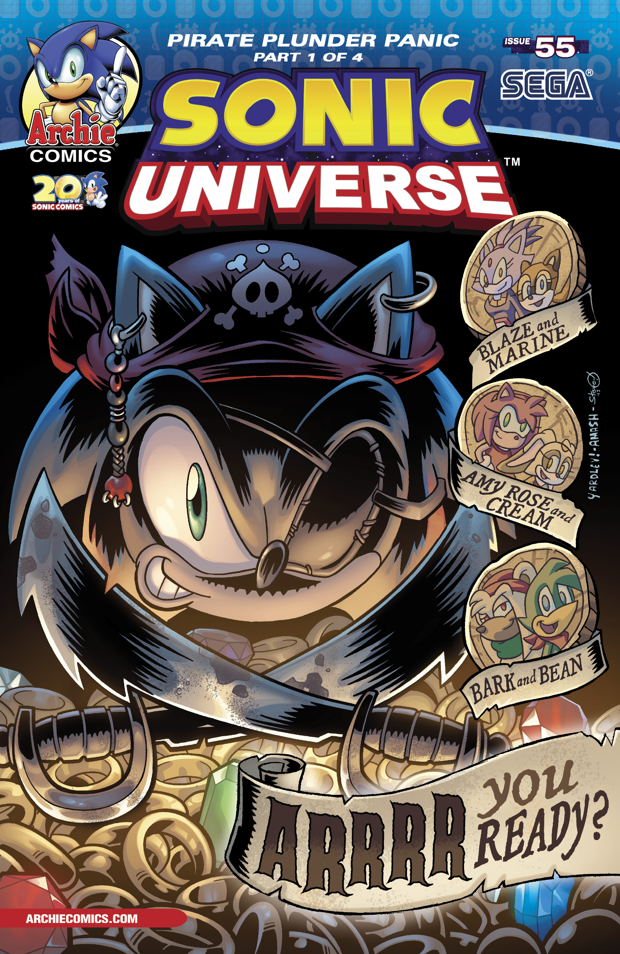 Avast Me Hearties! (SONIC UNIVERSE #55 thumbnails) by darkspeeds ...