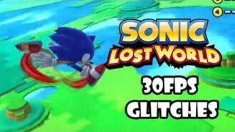 Sonic Lost World PC - 30FPS Glitches