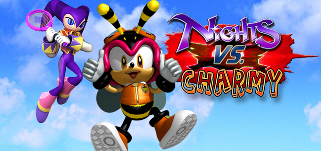 NiGHTS-and-Charmy-fight
