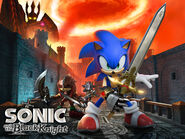 Sonic And The Black Knight Walpaper