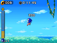 Hop Jump Sonic Rush