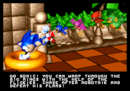 Sonic, you should spin around that thing, not to transport with others