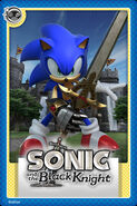 Sonic Black Knight Card