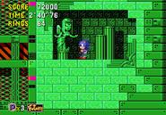 Sonic CD Angel Statue