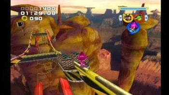 Sonic Heroes Rail Canyon (Team Chaotix)-0