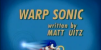Warp Sonic