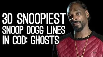 30 Snoopiest Snoop Dogg Lines in Call of Duty Ghosts' Snoop Dogg Voice Pack