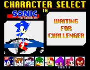 Fightersoniccharacterselectwaitingpoop