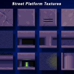 Supuestas texturas del jefe contra Metal Sonic.