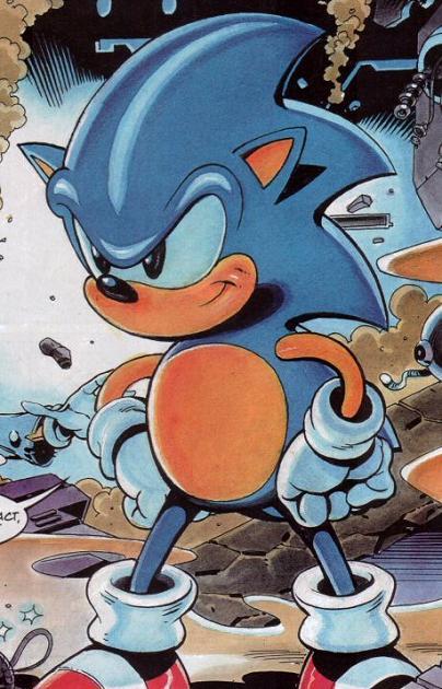 Sonic The Hedgehog Sonic The Comic Sonic News Network