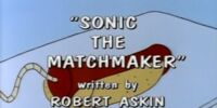 Sonic the Matchmaker
