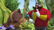 Sticks vs Eggman
