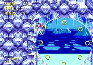 Bottom corner loop sonic 3