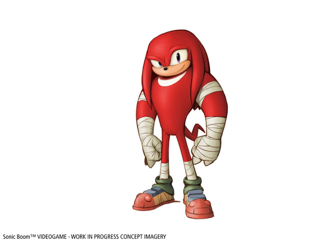File:Knuckles concept art Sonic Boom game.png