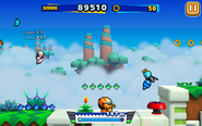 Sky Road (Sonic Runners) - Screenshot 5