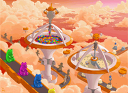 Concept artwork - Sonic Colors - Nintendo DS - 014 - Sweet Mountain
