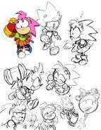 Sonic Mega Drive artwork 3