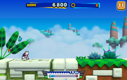 Sky Road (Sonic Runners) - Screenshot 1