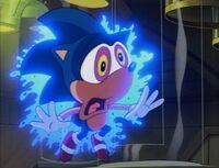 Sonic zapped by amnesia ray