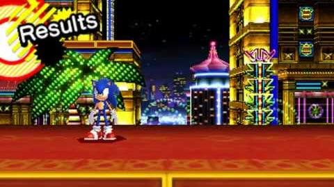 Sonic Generations 3DS - Modern Casino Night