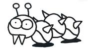 Sketch-Caterkiller-I