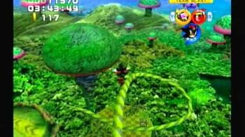 Sonic Heroes - Team Dark - Stage 9 Frog Forest (A-Rank)