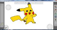 Pikachu By Metal