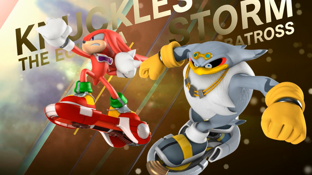 File:Knuckles and Storm (Sonic Free Riders Opening).png