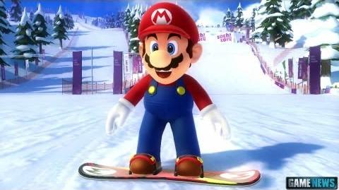 Mario and Sonic at the Sochi 2014 Olympic Winter Games - Trailer