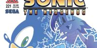 Archie Sonic the Hedgehog Issue 221