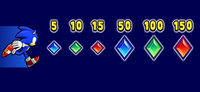 Crystals in Sonic Runners