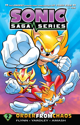 File:Sonic Saga Issue 2.jpg